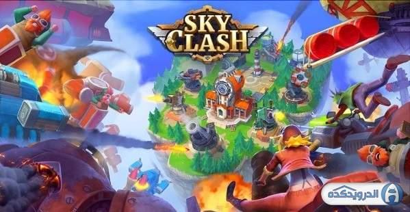 دانلود Sky Clash: Lords of Clans 3D 1.52.5246 بازی جنگ های هوایی اندروید