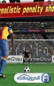 دانلود Soccer Shootout 0.9.5بازی ضربات فوتبال  اندروید