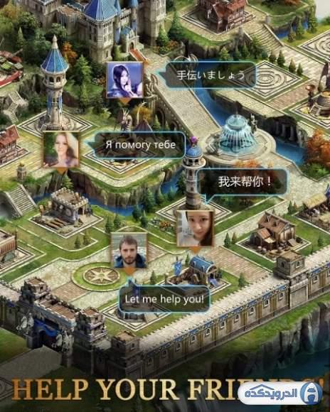 دانلود کلش آف کویینز Clash of Queens 2.9.1 بازی نبرد ملکه ها اندروید
