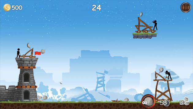 دانلود The Catapult 1.1.6 بازی منجنیق اندروید