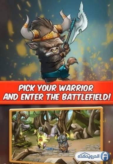 دانلود Tiny Gladiators 2.4.4 بازی گلادیاتورهای کوچک اندروید