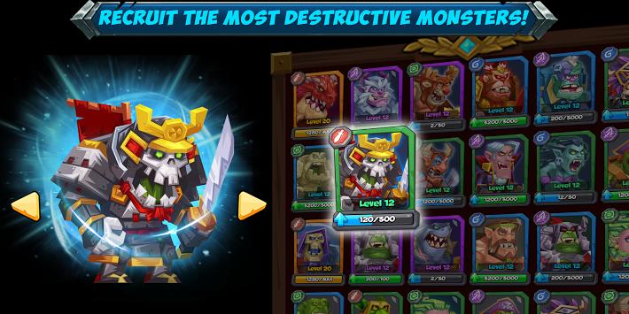 دانلود Tactical Monsters Rumble Arena 1.19.15  بازی هیولا ها  اندروید