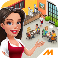دانلود بازی مدیریت کافی شاپ My Cafe: Recipes & Stories v2018.10.3 اندروید – همراه دیتا + مود + تریلر
