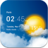 دانلود برنامه ساعت و آب و هوا شفاف Transparent clock & weather v1.40.21 اندروید