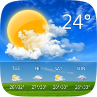 دانلود GO Weather Forecast & Widgets Premium v6.152 نرم افزار آب و هوا اندروید