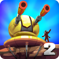 دانلود Tower Defense: Alien War TD 2 1.2.2بازی برج دفاعی-جنگ بیگانگان اندروید + مود + نسخه اول