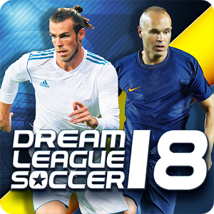 دانلود Dream League Soccer 2018 5.053 بازی لیگ رویایی فوتبال اندروید + دیتا