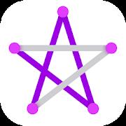 دانلود ۱LINE – one-stroke puzzle game 1.5.1 – بازی تخته ای خط اندروید