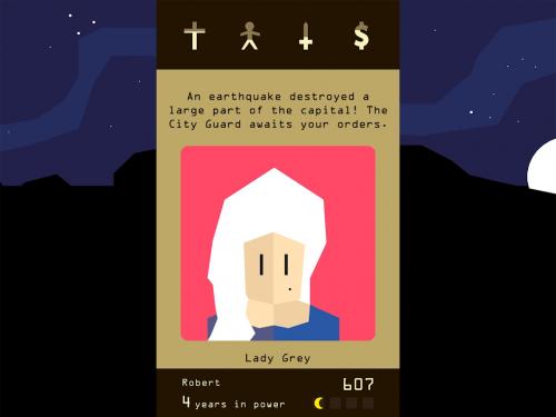 دانلود Reigns 1.0.9 build 30 - بازی کارتی سلطنت و پادشاهی اندروید