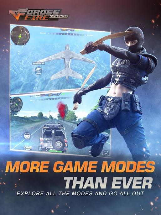 دانلود CrossFire: Legends 1.0.9.10 - بازی اکشن و آنلاین اندروید