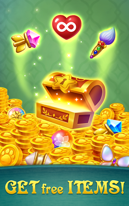 دانلود Gem Blast: Magic Match Puzzle 21.0224.09 - بازی جورچین سه تایی انفجار الماس اندروید
