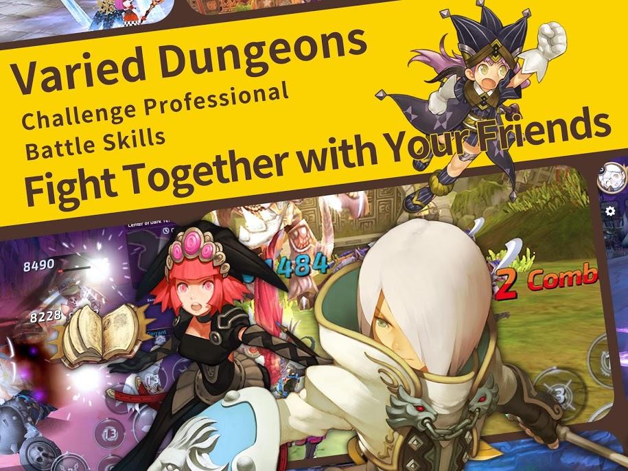 Dragon Nest M 3 - دانلود Dragon Nest M 1.1.0 – بازی نقش آفرینی آشیانه اژدها اندروید
