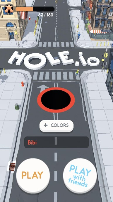 دانلود Hole.io 1.14.0 - بازی سرگرم کننده جدید اندروید