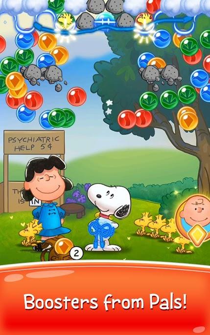 دانلود Snoopy Pop 1.61.001 - بازی حذف توپهای رنگی برای اندروید