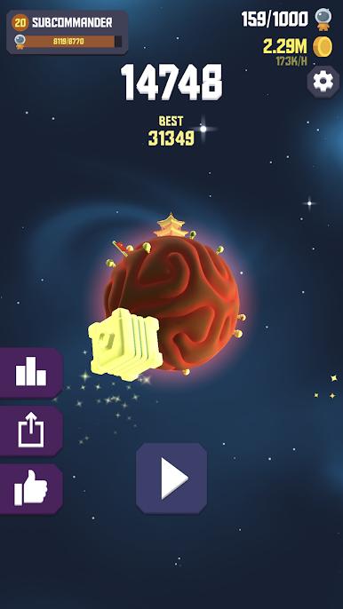 Space Frontier2 2 - دانلود Space Frontier 2 1.0 – بازی رقابتی مرز فضایی اندروید