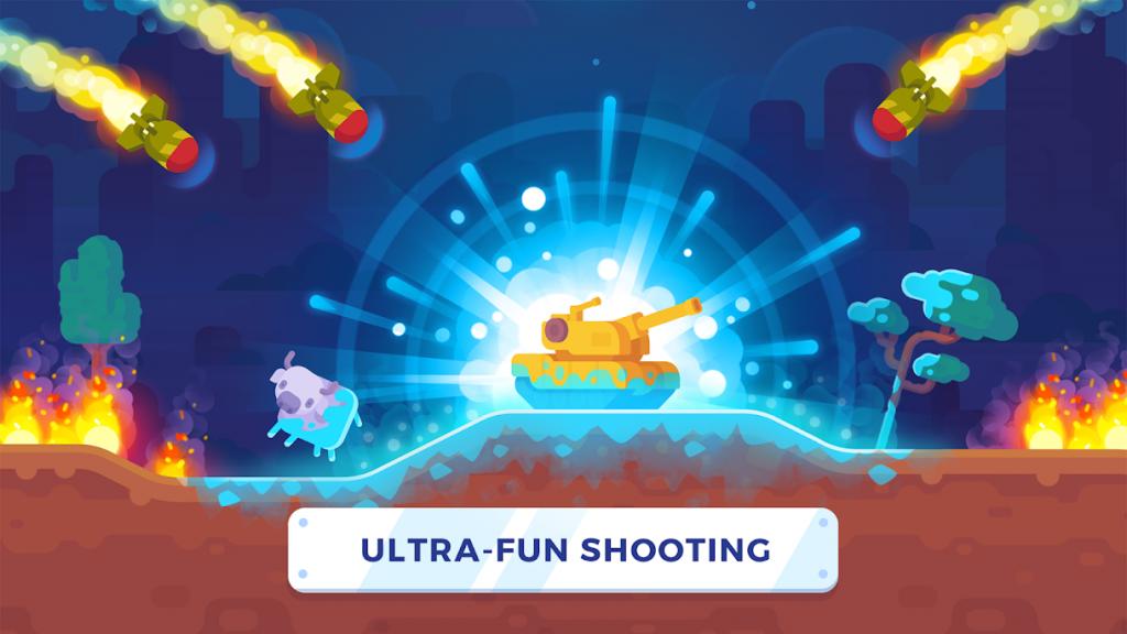 دانلود Tank Stars 1.5.11 - بازی اکشن ستاره تانک اندروید