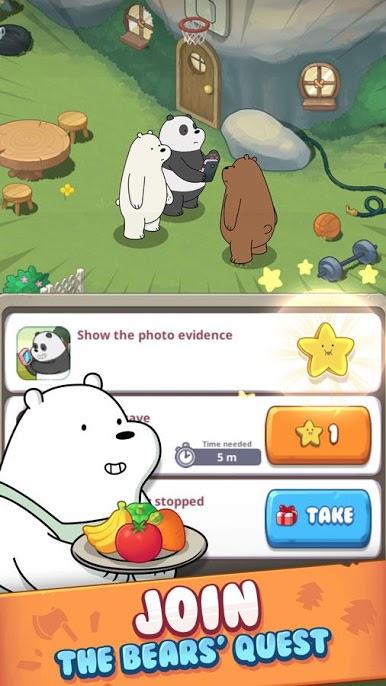 دانلود We Bare Bears Match3  Repairs 2.1.4 - بازی پازلی کودکانه اندروید