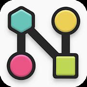 دانلود noded 1.7 – بازی پازلی گره ها برای اندروید