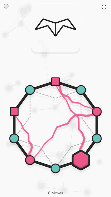 noded 2 - دانلود noded 1.5 – بازی پازلی گره ها برای اندروید