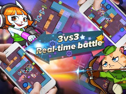 دانلود Super Cats 1.0.83 - بازی مبارزه گربه های فوق العاده برای اندروید