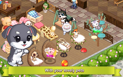 دانلود My Pet Village 3.1.4 - بازی خانه حیوانات برای اندروید