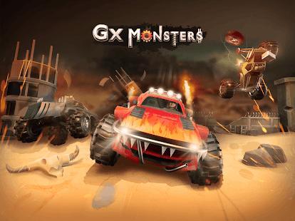 unnamed 53 - دانلود GX Monsters 1.0.28 – بازی مسابقه ای هیولای جاده برای اندروید + مود