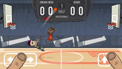دانلود Basketball Battle 2.2.3 - بازی ورزشی بسکتبال دو نفره اندروید + مود