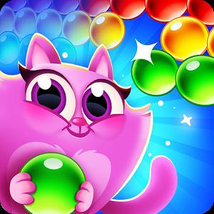 دانلود بازی پازلی Cookie Cats Pop 1.48.2 کوکی گربه ها اندروید+مود