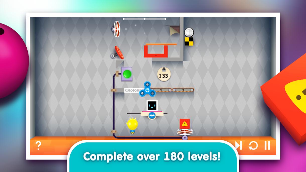 دانلود Heart Box - Physics Puzzles 0.2.35 - بازی با قوانین فیزیک اندروید