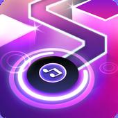 دانلود Dancing Ballz: Music Line 1.4.6  بازی خط موسیقی اندروید + مود