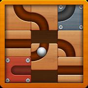 دانلود Roll the Ball – slide puzzle 1.7.39 – بازی پازلی و فکری حرکت مسیر توپ برای اندروید + مود