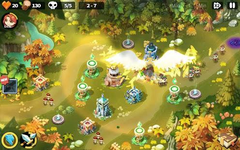 دانلود Hero Defense King 1.0.37 - بازی استراتژیک و دفاعی پادشاه قهرمان برای اندروید + مود