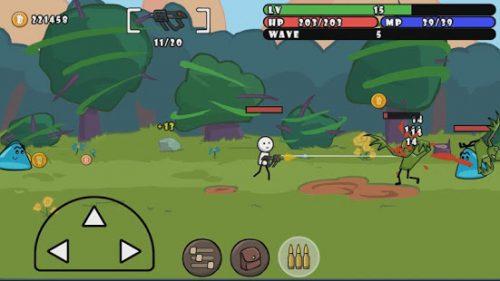 دانلود One Gun: Stickman 5.1 بازی اکشن آدمک تفنگدار برای اندروید + مود