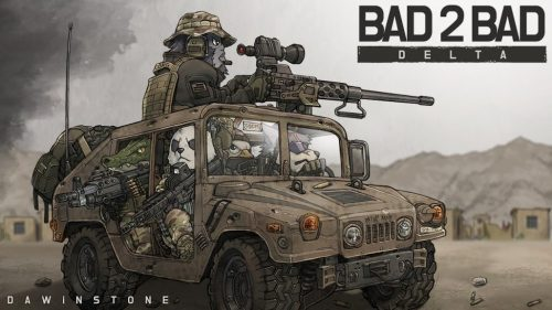دانلود BAD 2 BAD: DELTA 1.5.8 - بازی اکشن گروه دلتا برای اندروید