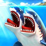 دانلود Double Head Shark Attack Multiplayer 4.7 – بازی رقابت کوسه ها برای اندروید