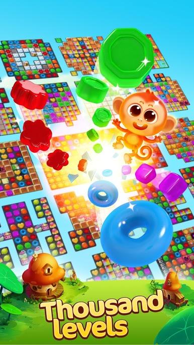 Jellipop Match 3 - دانلود Jellipop Match v5.8.0 – بازی پازل ژله ای اندروید