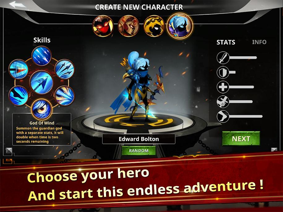 دانلود Stickman Legends - Ninja Warriors: Shadow War 2.4.9 - بازی جنگجویان نینجا اندروید