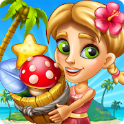 دانلود Tropic Trouble Match 3 Builder 4.10.10 – بازی پازلی اندروید