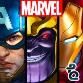 دانلود بازی پازل سلطنت تیره Marvel Puzzle Quest Dark Reign v208.537219