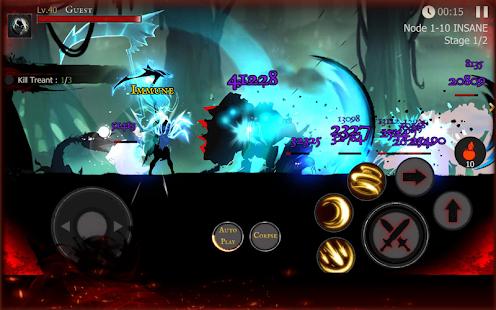 دانلود Shadow of Death: Dark Knight 1.100.0.0 - بازی سایه مرگ: شوالیه تاریکی اندروید