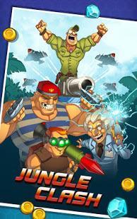 دانلود Jungle Clash 1.0.20 – بازی استراتژیک مبارزه در جنگل برای اندروید