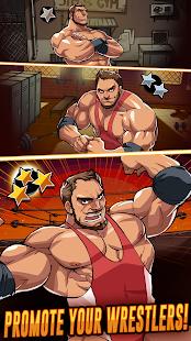 دانلود The Muscle Hustle: Slingshot Wrestling 1.33.2221 – بازی اکشن کُشتی برای اندروید