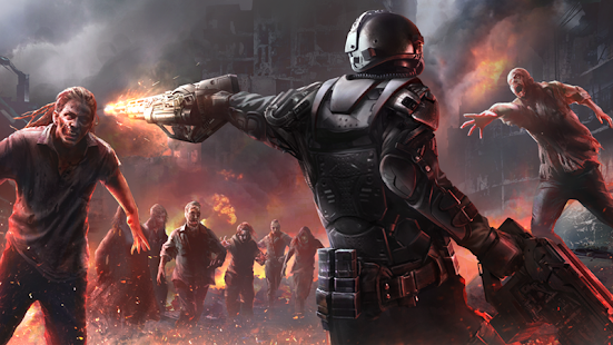 دانلود Zombie Shooter Hell 4 Survival 1.57 - بازی جهنم زامبی اندروید