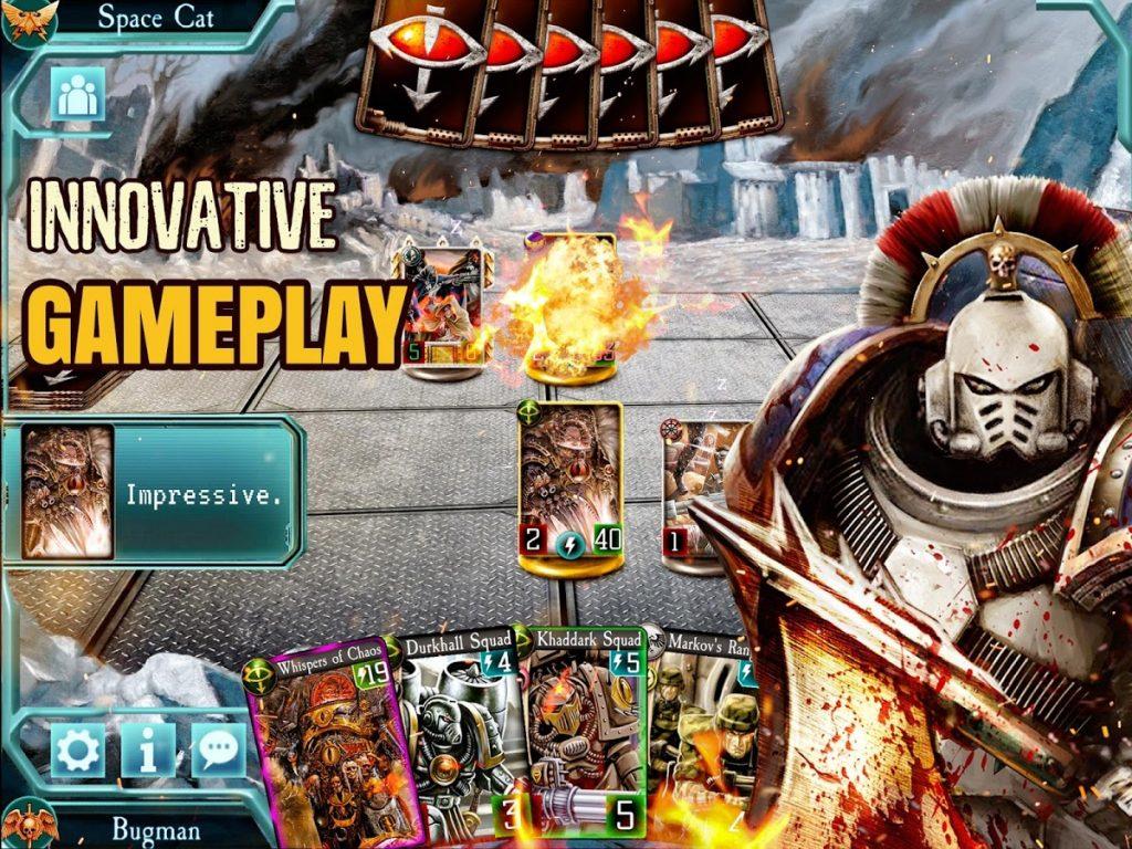 دانلود The Horus Heresy: Legions TCG card battle game 1.9.0 - بازی اکشن اندروید