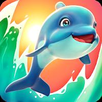 دانلود Dolphy Dash 1.0.14 بازی ماجرایی و کودکانه دلفی دش اندروید