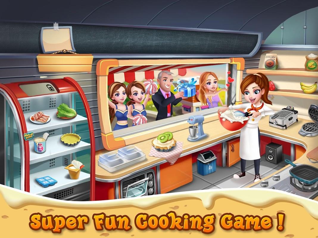 دانلود Rising Super Chef 2 : Cooking Gam 5.10.3 - بازی رستوران داری سر آشپز ۲ اندروید