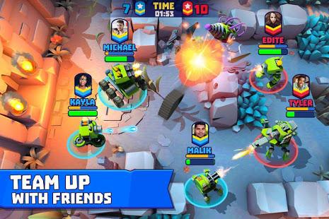 دانلود 3.26 Tanks A Lot  Realtime Multiplayer - بازی اکشن چند نفره اندروید