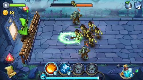 دانلود Magic Siege - Defender 1.95.59 - بازی استراتژی برج دفاعی جادویی برای اندروید