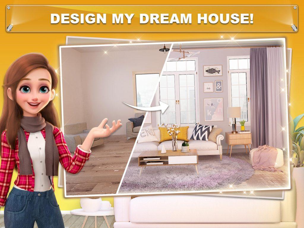 دانلود My Home  Design Dreams 1.0.358 - بازی جالب دیزاین خانه برای اندروید