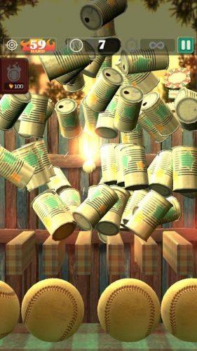 دانلود Hit & Knock down 1.3.7 - بازی جالب پرتاب توپ به قوطی ها برای اندروید